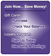 Supplement City Gift Cards & Loyalty Program